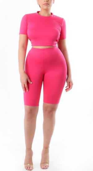 Pink Panther 2 Piece Short Set