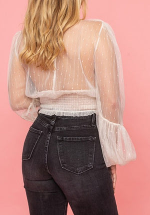 Puff Puff Girl Mesh Top