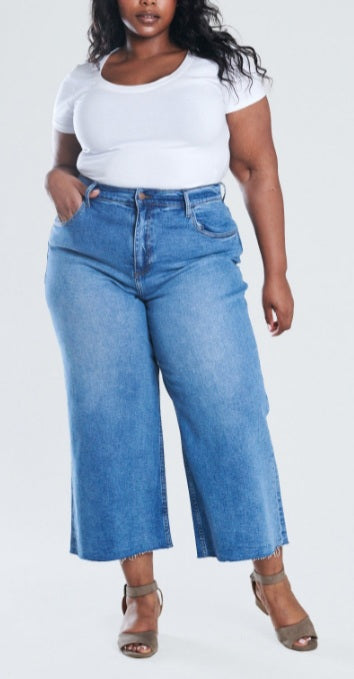 Just Right Plus Size Crop Pants