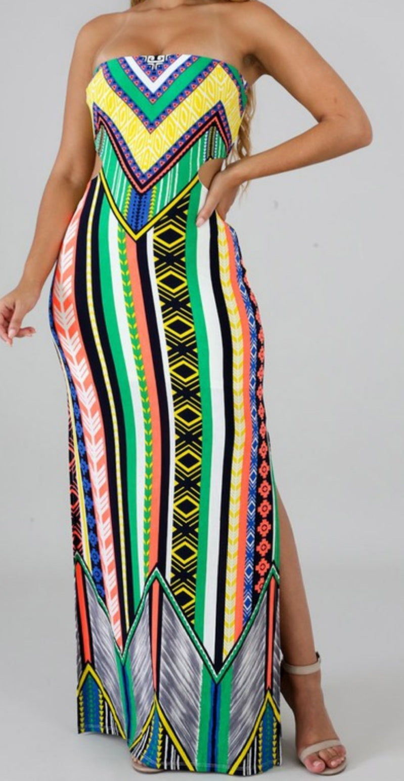 Stoplight Maxi Dress