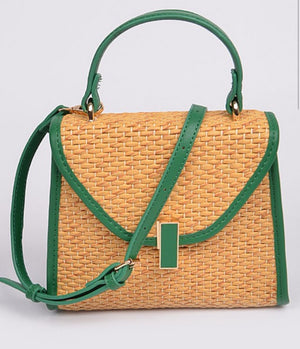 Straw Season Handbag
