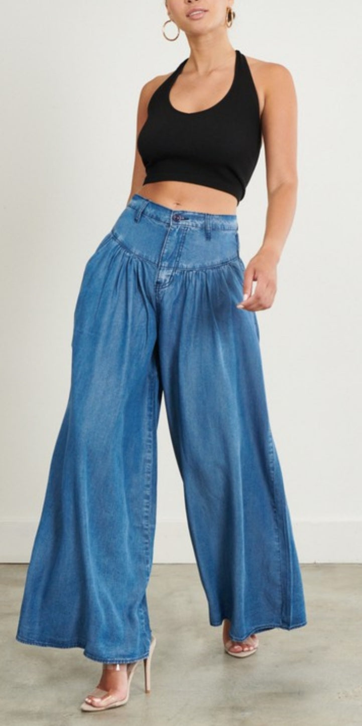 Go With The Flow Wide-leg Pants