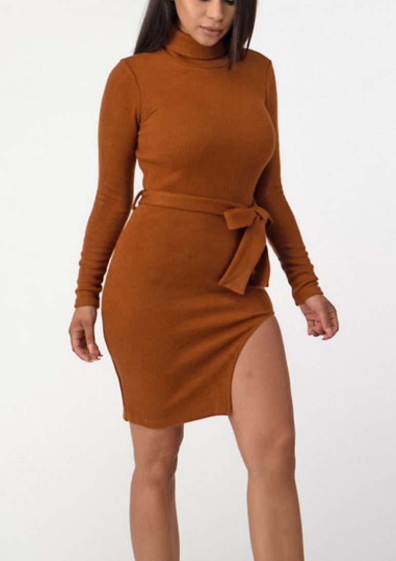 We Split Up Sweater Dress