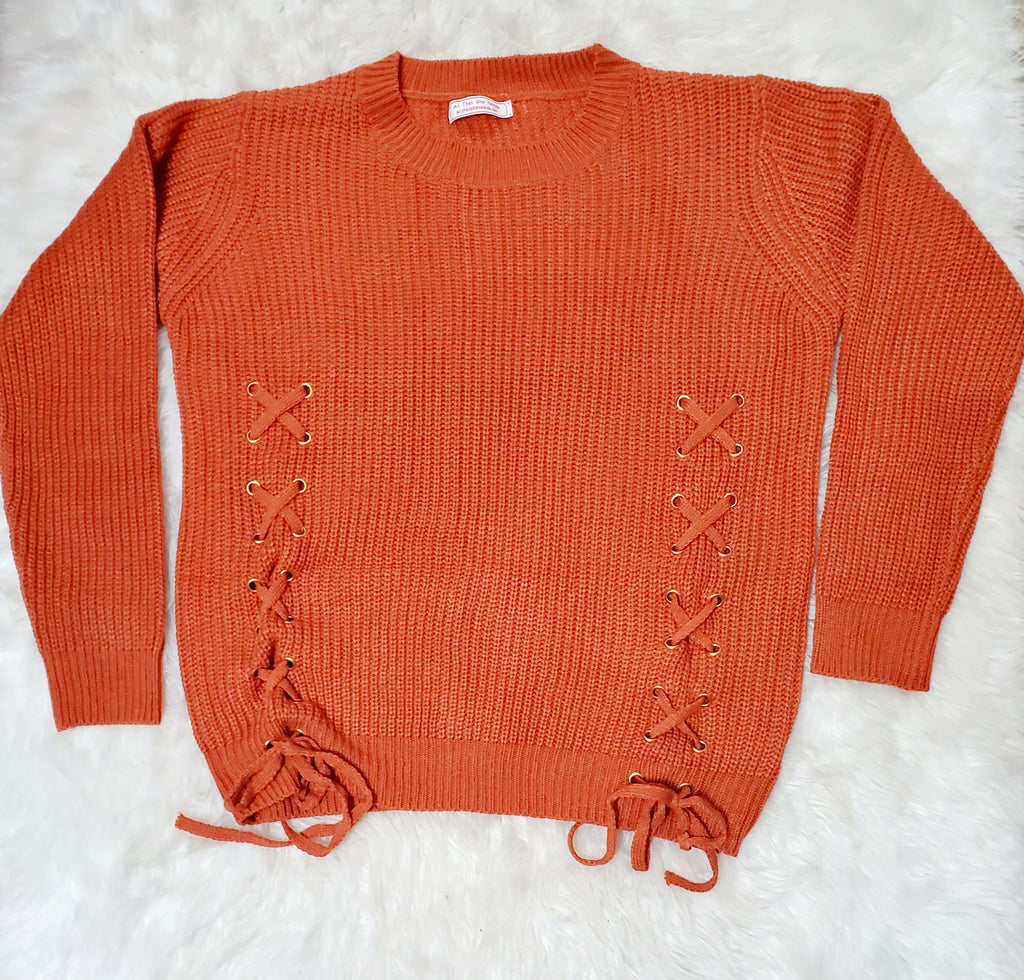 Shoestring Sweater