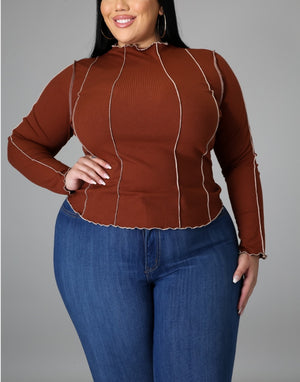 Blurred Lines Plus Size Shirt