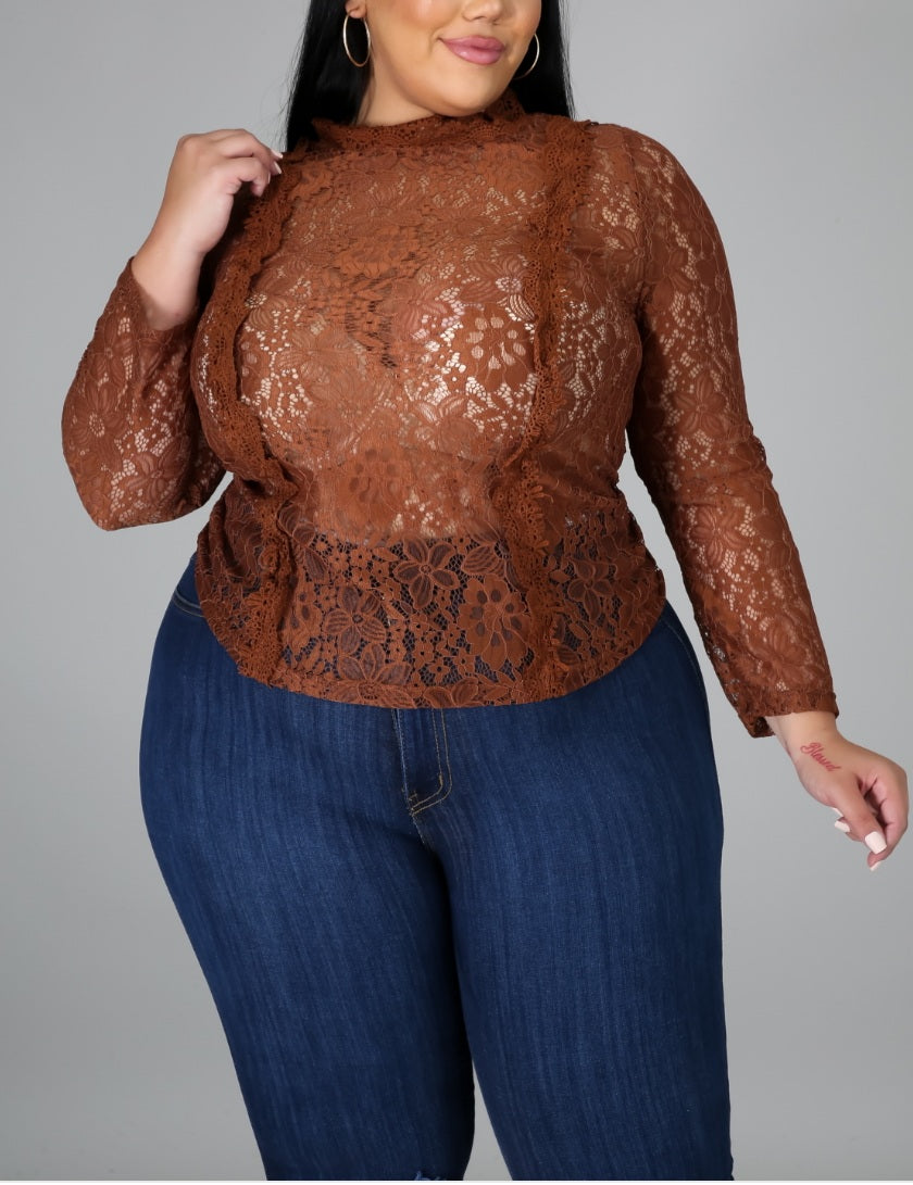 Sweet Thang Plus Size Blouse