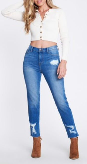 Torn Apart Distressed Jeans