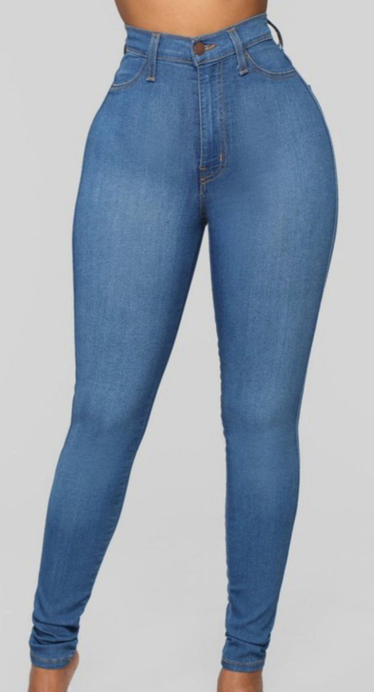 Perfect Fit High Waist Jeans