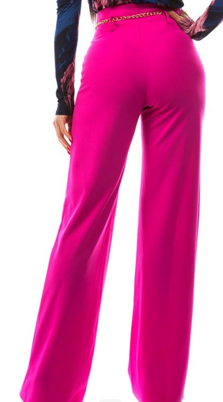 The Office Wide Leg Pants