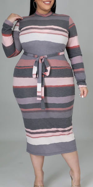 Those Curves Plus Size Fitted Dress