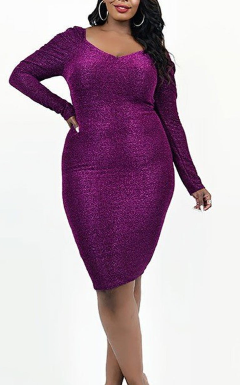 You Can Shine Too Plus Size Dress