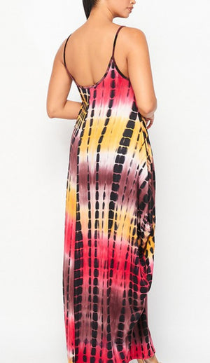 Melted Maxi Dress