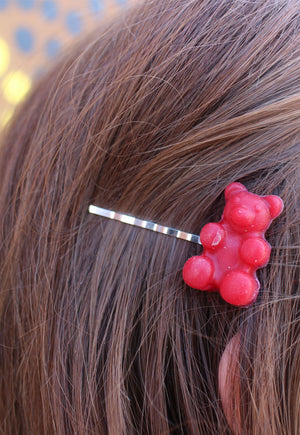 Gummy Bear Hair Clip Duo