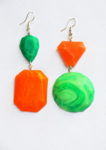 Green and Orange Fake Fancys