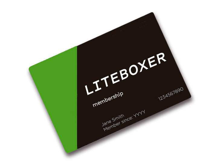 LITEBOXER ANNUAL MEMBERSHIP
