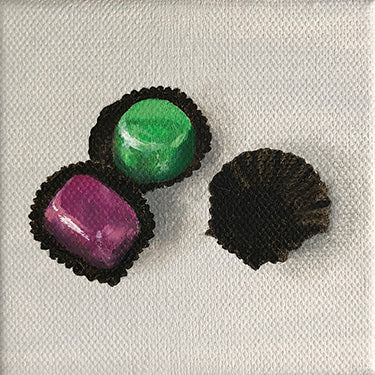 Haigh's Chocolates Original Oil Painting by Amanda Gosse