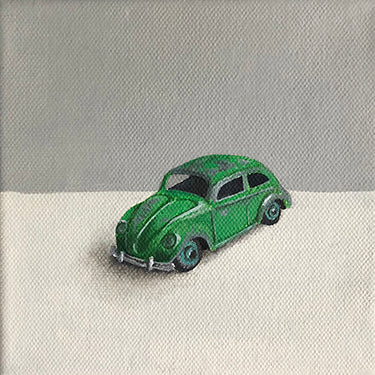 Toy Car Original Oil Painting by Amanda Gosse