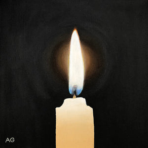 Candlelight original painting by Amanda Gosse
