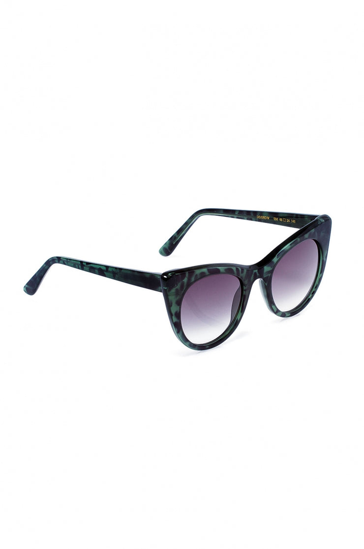 Green Leopard Doshow Sunglasses