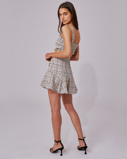 C/MEO COLLECTIVE | BLAIZ | Tweed Mini Skirt