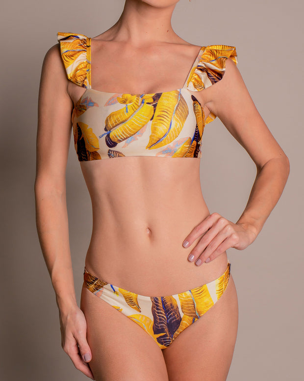Banana Leaves Bikini Bottom