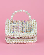 227 | BLAIZ | Tweed & Pearl Micro Bag