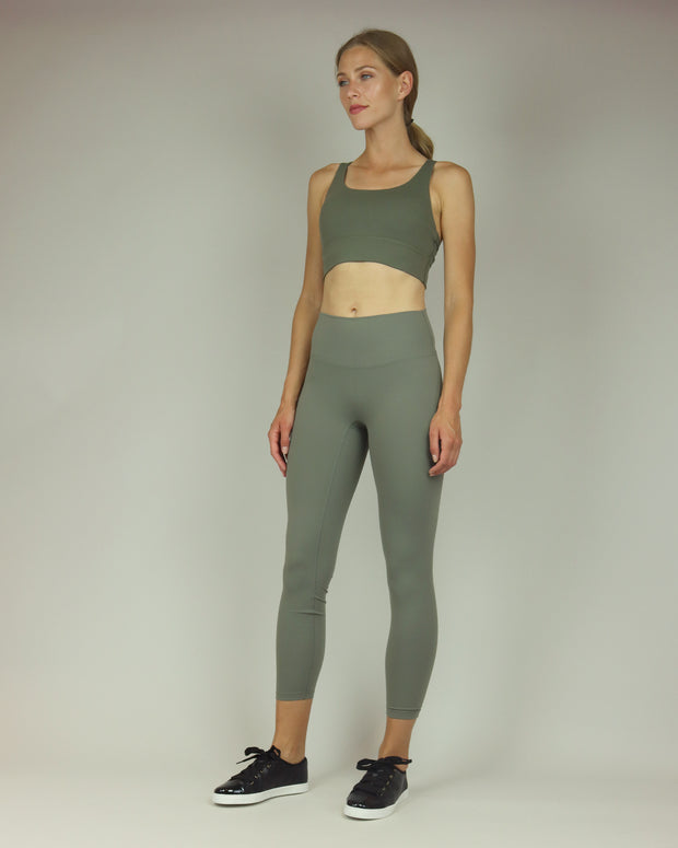 BLAIZ | BLAIZ | Khaki Green Sports Bra
