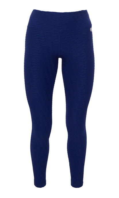 Dark Blue PTNT Leggings