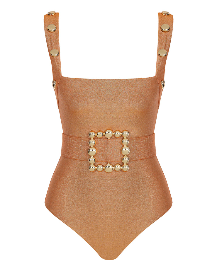Juliet Copper One Piece Swimsuit
