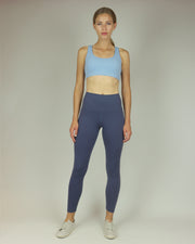 Petrol Blue High-Waisted Leggings