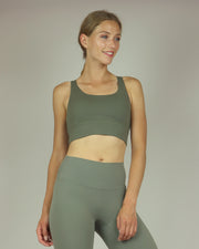 BLAIZ | BLAIZ | Khaki Green High Waisted Leggings