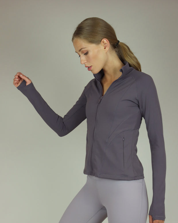 Purple Yoga Jacket