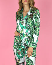 Amazona Leaf Print Shirt