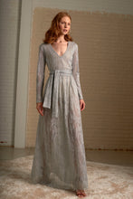 Load image into Gallery viewer, Silver Maite Maxi Knit Dress