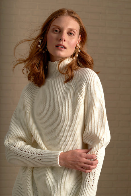 Rosario Funnel Neck Jumper