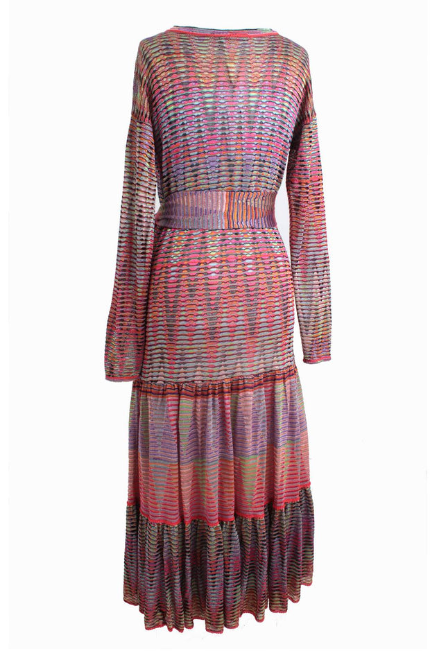 Multi-Coloured Cardigan Dress