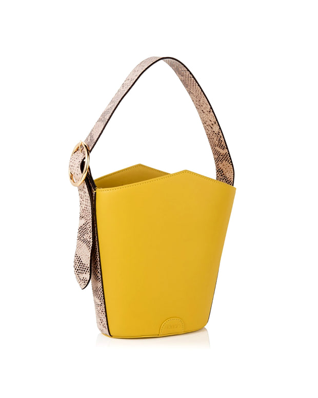 FLORIAN LONDON | BLAIZ | Yellow Ava Bucket Bag