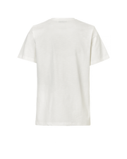 White Lemon Motif T-Shirt