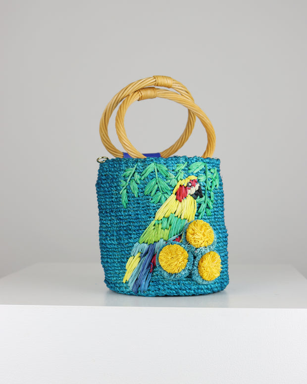 Lauren Macao Basket Bag