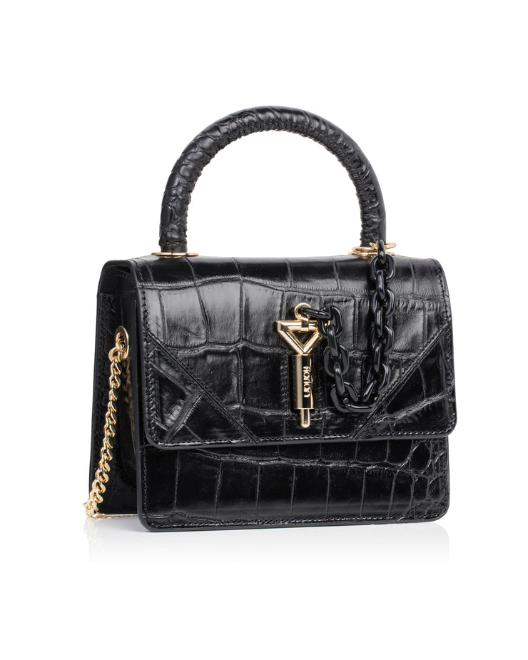 FLORIAN LONDON | BLAIZ | Mini Vienna Black Tote Bag