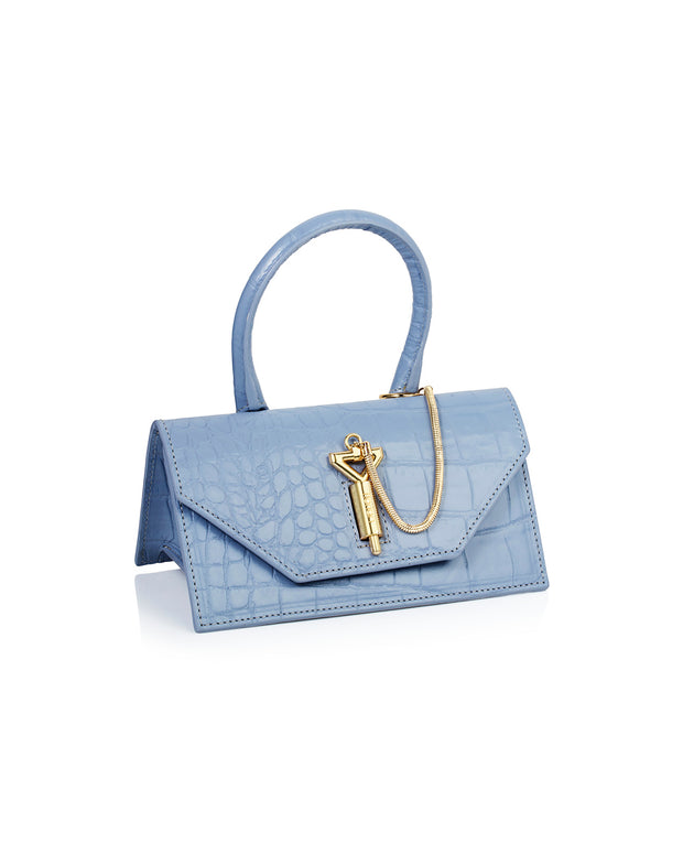 Light Blue Mini Meghan Bag