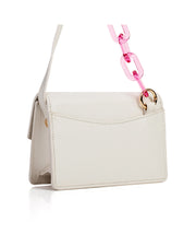 FLORIAN LONDON | BLAIZ | Cream & Pink Micro Bag