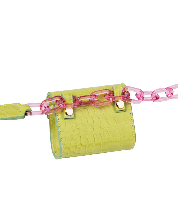Lime Green Nano Belt Bag