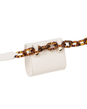 Cream Nano Belt Bag