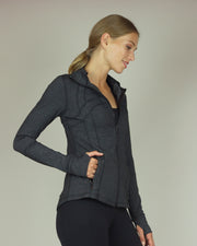 BLAIZ | BLAIZ | Charcoal Yoga Jacket