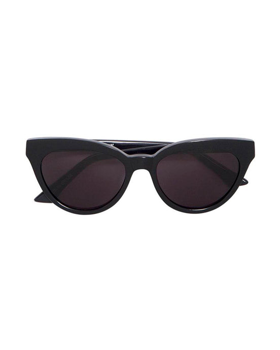 Black Martini Cat-Eye Sunglasses