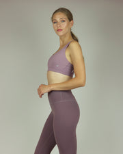 Dusky Lavender High-Waisted Leggings