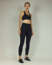 BLAIZ | BLAIZ | Black Lacy High Waisted Leggings