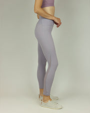 BLAIZ | BLAIZ | Mauve Mesh High Waisted Leggings