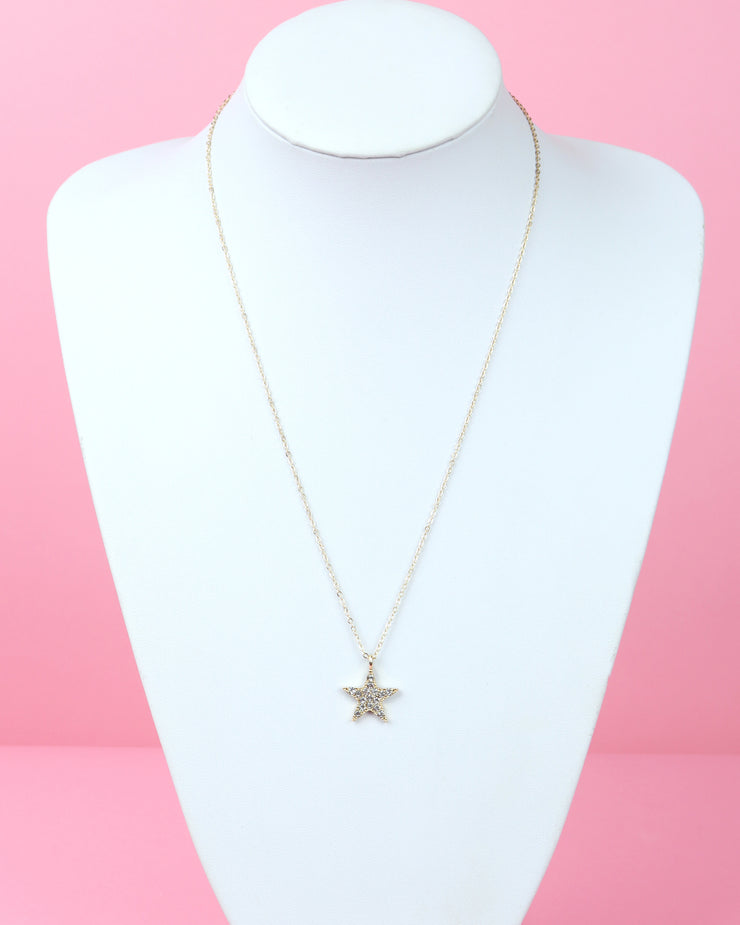 227 | BLAIZ | Star Pendant Necklace